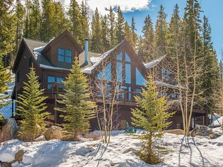 Mountain luxury lodge w/ views & private hot tub - area attractions nearby!