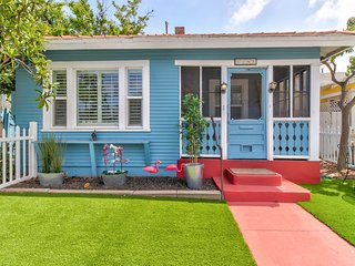 Charming, family-friendly cottage near Balboa Park, walk to downtown - dogs ok