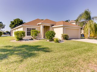 Waterfront home in exclusive community w/ private pool - golf nearby!