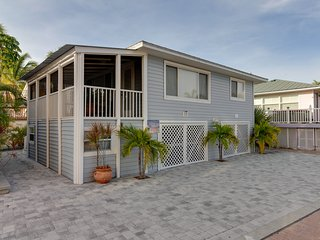 Oceanfront home w/ a screened-in porch, only steps from the beach!