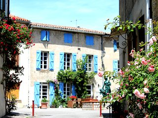 3 bedroom holiday cottage in the hills south of Carcassonne