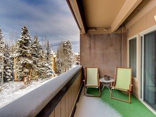 Roomy condo w/ shared sauna - walk to slopes & Main Street!
