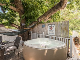Historic, dog-friendly home w/ pool & two hot tubs in an unbeatable location!