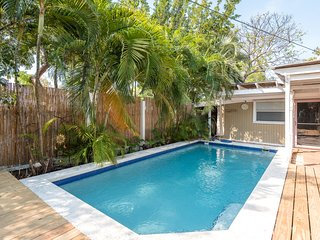 Dog-friendly home w/ private pool, jetted tub, & gardens - relax on a hammock!