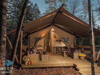 Deer Tent #4 (Woods of Eden, Glampground)