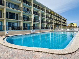 NEW LISTING! Studio condo w/ shared pool and immediate beach access!