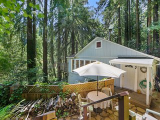 NEW LISTING! Charming woodland home w/deck & patio-near Russian River