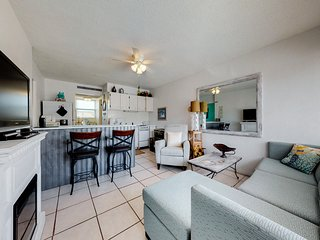Fresh, inviting condo in oceanfront complex w/ shared pool!