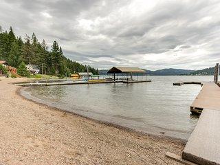 NEW LISTING! Waterfront cabin w/ large deck, fishing dock, & private beach