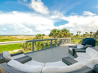 Stunning, waterfront home located just steps from the beach!