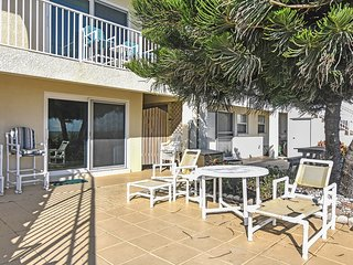 NEW LISTING! Oceanfront condo just steps to ocean in the heart of Cocoa Beach
