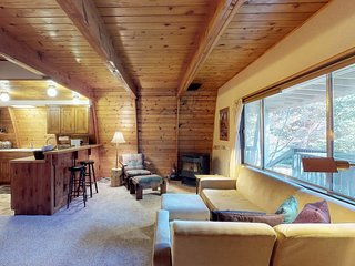 Rustic home w/large decks & wood stove-located in heart of McCall