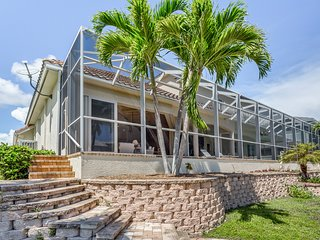 NEW LISTING! Bayview home with private pool, private jacuzzi, dock, and more!