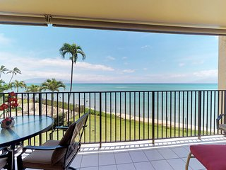 NEW! Stunning Hololani oceanfront retreat w/ sweeping ocean views & shared pool!