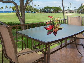 Waterfront condo with ocean views, lanai, & resort pool - close to beach