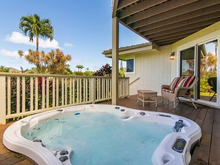 NEW LISTING! Spacious home w/hot tub, scenic views-short drive to the beach