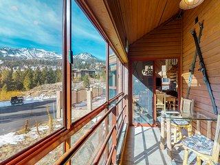 NEW LISTING! Stylish condo w/shared pool, hot tub, sauna & ski access