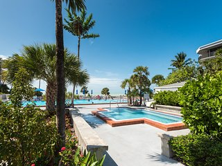 Comfortable condo w/ shared pool, private balcony, and beach access