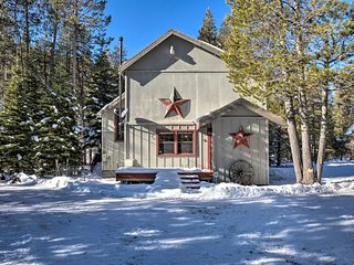 NEW! Truckee House w/Deck near Tahoe Lake & Skiing