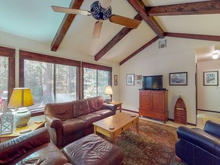 NEW LISTING! Forest home w/ large deck, foosball & shared pool/tennis - dogs OK!