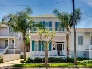 East End Historic District Victorian home with a fireplace, patio, and grill!
