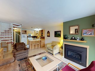 Renovated, dog-friendly condo w/ mountain views, access to hiking & skiing