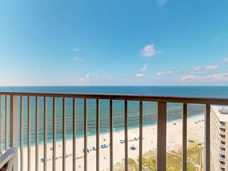 Bright, waterfront condo in a gated resort w/ shared pools, tennis courts, & gym