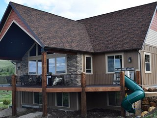 NEW LISTING! New home overlooking Bear Lake with private hot tub & theater room