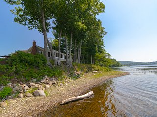 Peaceful waterfront cabin w/ stunning views & dock - the family dog is welcome!
