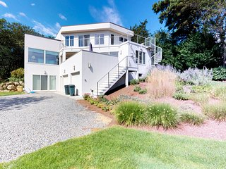 NEW LISTING! Spacious home w/private hot tub & fireplaces -close to Nauset Beach