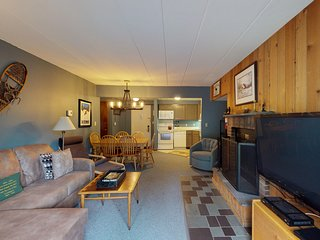 NEW LISTING! Resort condo at the base of the slopes w/ shared pools & hot tub!
