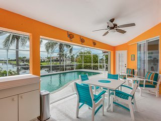 NEW LISTING! Waterfront home w/ private pool, free WiFi, and great location!