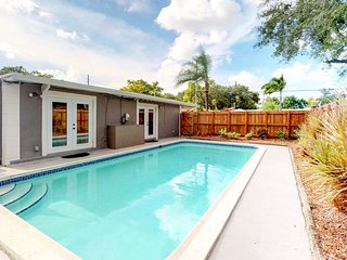 NEW LISTING! Spacious home w/ pool, easy access to sights of Fort Lauderdale