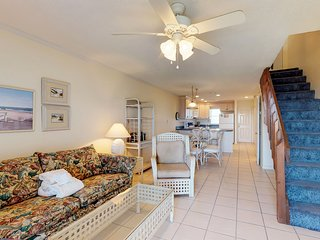NEW LISTING! Waterfront, dog-friendly getaway w/ shared pool - steps to beach