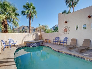 Inviting home w/ private pool & hot tub, fireplace, grill, & great patio