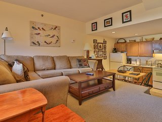 Cozy condo w/ ski-in/ski-out access to trails, heated pool, hot tub, & more!