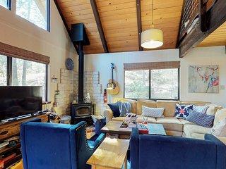 NEW LISTING! Remodeled cabin w/shared pool, seasonal creek, tennis, near skiing