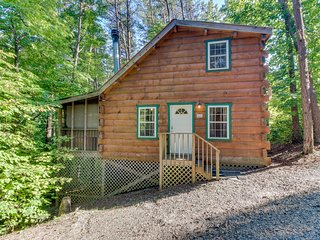 Dog-friendly cabin w/ hot tub & jetted tub - perfect for a romantic getaway!