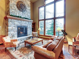 Family-friendly home with private hot tub - near ski slopes & more!