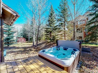 NEW LISTING! Spacious mountain view home w/ hot tub, fireplace -near skiing