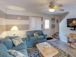 NEW LISTING! Dog-friendly condo with shared pool, tennis, and peaceful location!