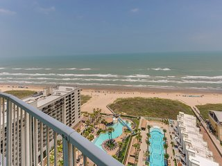 Oceanfront condo with shared pool, hot tub and postcard perfect views!