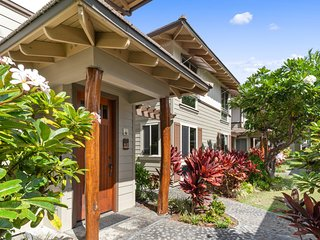 Mauna Lani condo w/shared waterfall pool, hot tub & private grill