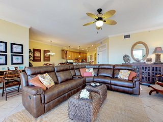 Stunning Gulf-front home with two shared pools - near the beach!