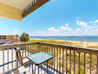 NEW LISTING! Oceanfront budget-friendly rental with shared pool, ocean views!