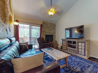 NEW LISTING! Ideally located mountain retreat near skiing, golf & fishing
