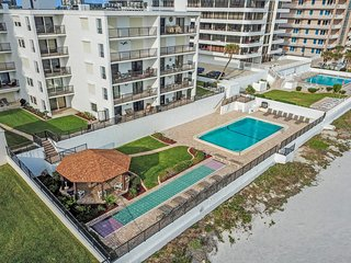 NEW LISTING! Immaculate, oceanfront condo with shared pool, right on the beach!