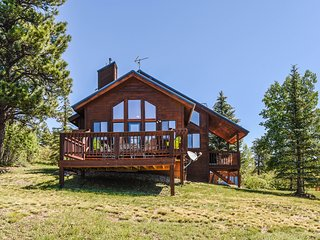 NEW LISTING! Secluded cabin near lakes w/great outdoor space & modern comforts