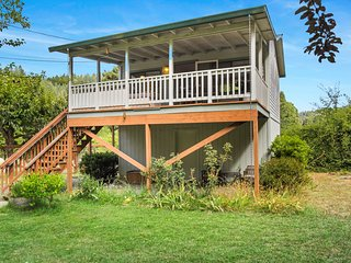 NEW LISTING! Vineyard view studio cottage by river, near town & winetasting