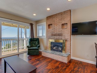 Dog-friendly condo with ocean view and beach access perfect for family fun!
